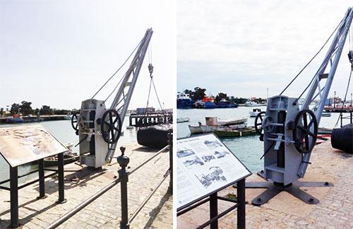 La recuperación del espacio expositivo dedicado a la actividad portuaria