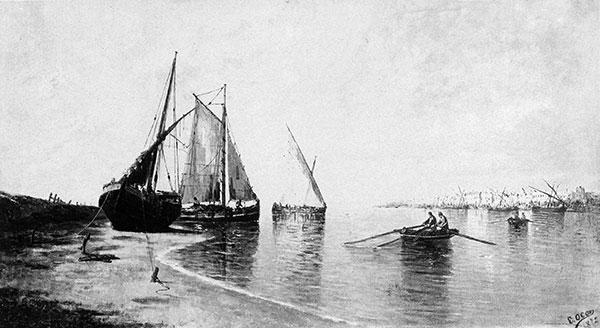 Barques de pêcheurs au Puerto de Santa Maria
