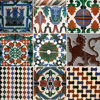 Conoce el hospital de San Juan de Dios: Los paneles de azulejos