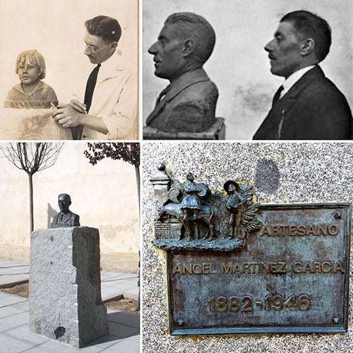 Monumento al belenista Ángel Martínez