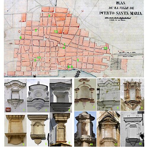 Hornacinas vacías y patrimonio urbano en El Puerto de Sta. María (2ª parte). Catálogo.