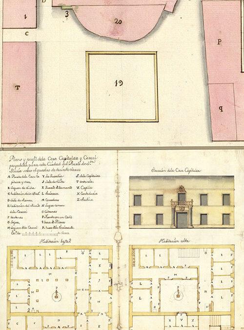 Plaza de la Pescadería. La Casa Capitular que el Duque impidió construir.