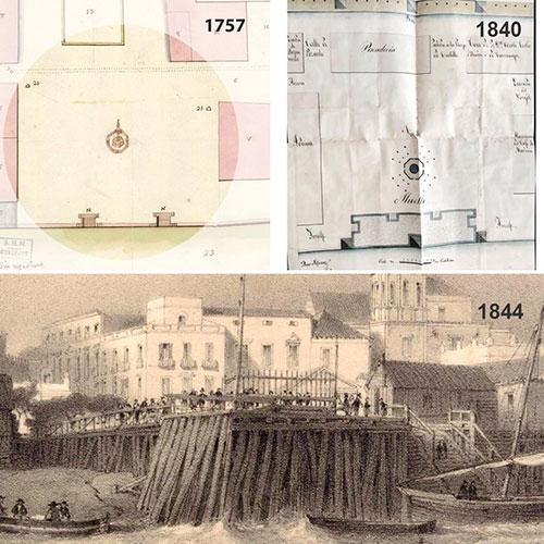 Plaza de la Pescadería – El muelle Diagonal