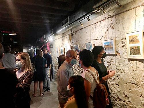 """La exposición """"Pintando la plaza de la pescadería"""""""