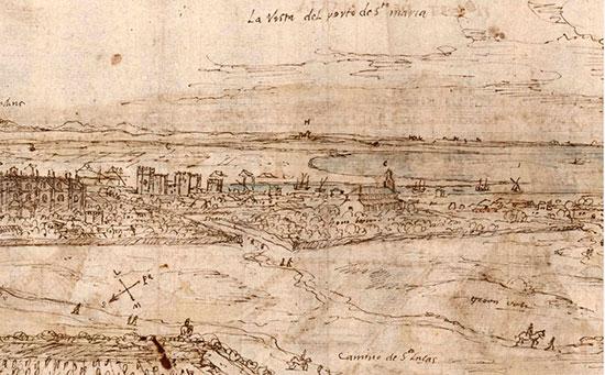 El Puerto de Santa María en 1599 según Diego Cuelbis