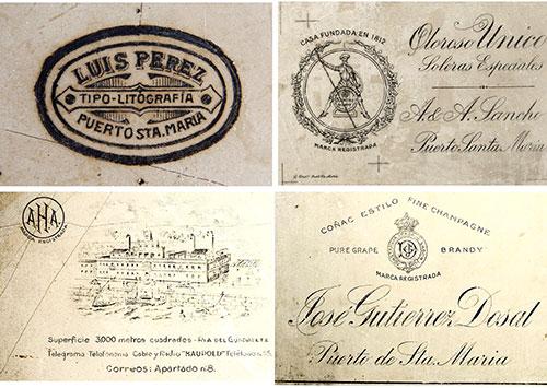 Antiguos talleres litográficos portuenses. Litografía Luis Pérez