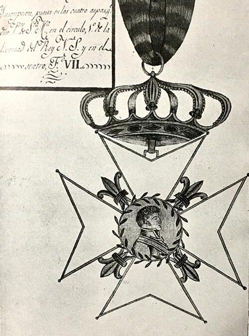 La Cruz de Honor otorgada a los regidores portuenses por Fernando VII