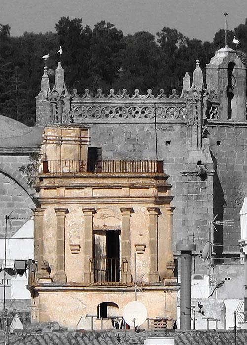Torre- mirador del palacio Bernabé Madero