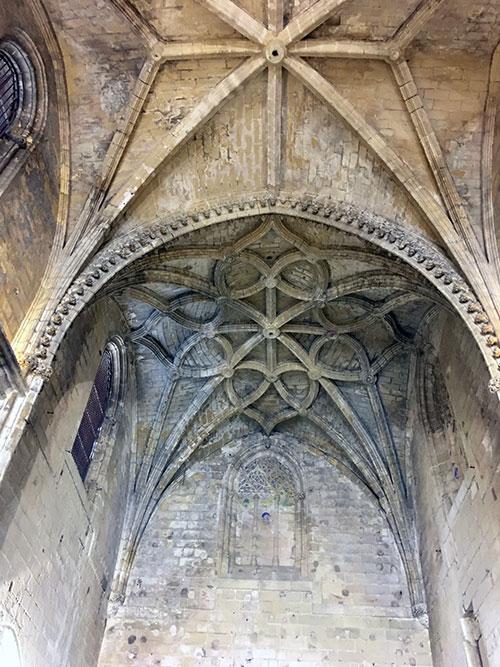 Bóvedas del Monasterio de la Victoria