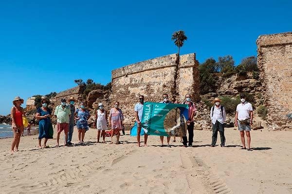 Descripción de la campaña:  Muralla – Fuerte de Sta. Catalina. Tu patrimonio en peligro.