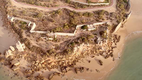 Muralla-Fuerte de Santa Catalina