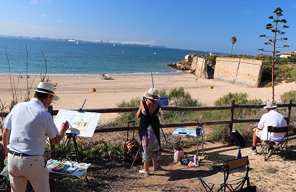 Pintando la Muralla – Fuerte de Santa Catalina